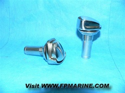 Stainless Steel Fuel Water Waste Tank Vent Fitting