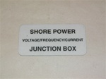 Shore Power junction Box