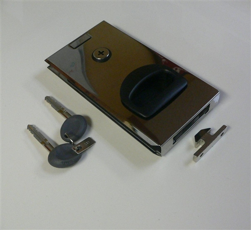 Mobella Flush Entry Door Lock Latch For Sliding Doors