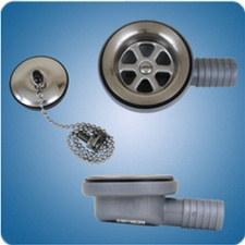 Sink Drains For Marine And Rv Applications