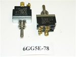 (ON)/ON/OFF Double Pole Chrome Toggle Switch. Old Sea Ray Part # 183277. Carling Part # 6GG5E-78. 4 Screw Terminals.