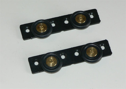Roller Wheels For Curved Shower Doors In Boats And Rv S In