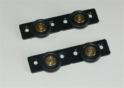 Shower Door Truck roller wheels for door track - 2 units